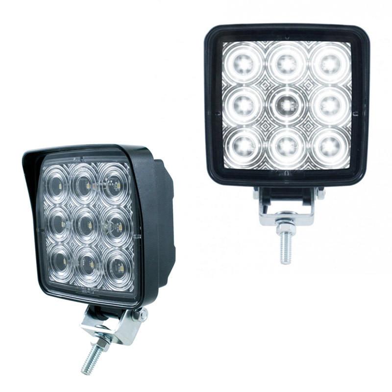 High Power 9 LED Square Work Light