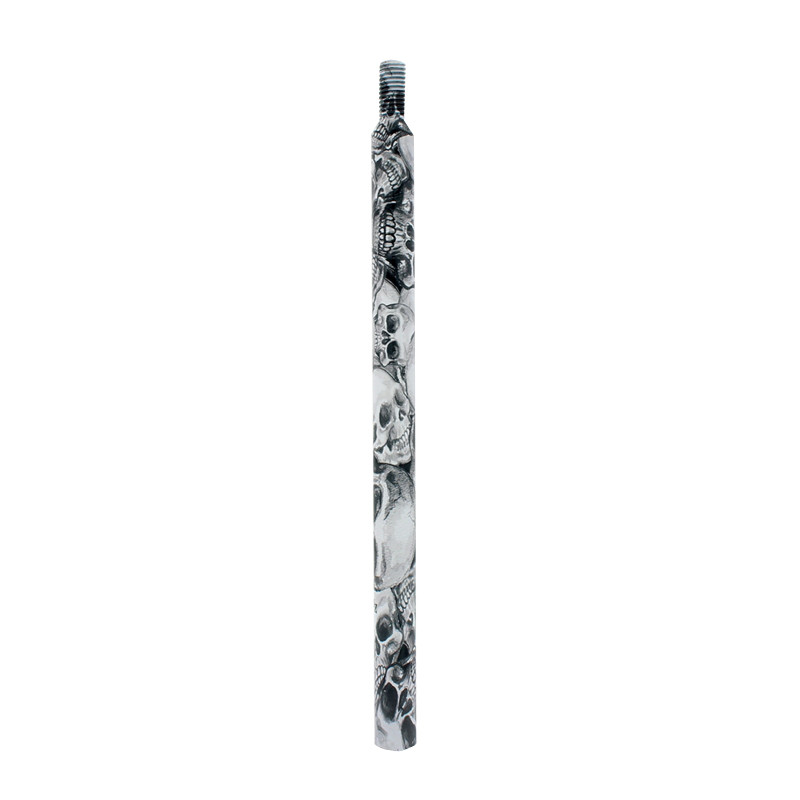 """Hydro Dipped 12"""" Skull Shifter Shaft Extension"""