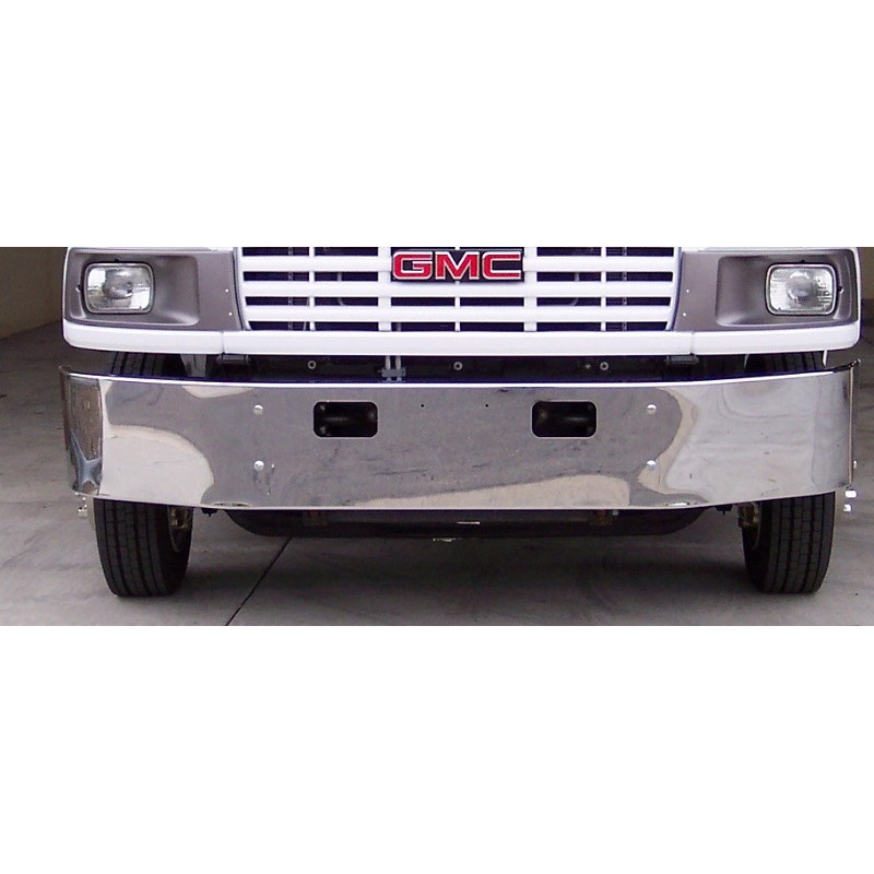Valley Chrome Bumpers : Gmc c chrome bumper by valley raney s