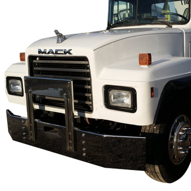 Mack Rd 688 Dm Bumper With 6 Quot Breakback By Valley Chrome
