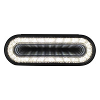"6"" Oval 24 Super White LED Back Up Mirage Light"