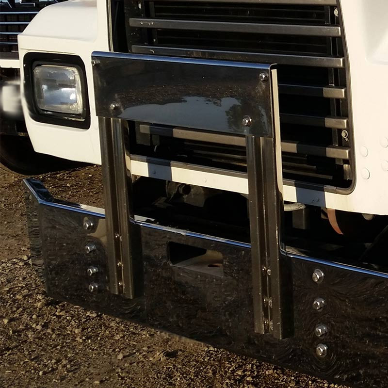 Mack RD Series Bumper Grill Guard By Valley Chrome