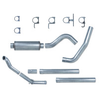 "Pypes Ford 7.3L 4"" Downpipe Back Exhaust System"