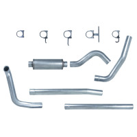 "Pypes Ford 7.3L 4"" Turbo Back Exhaust System"
