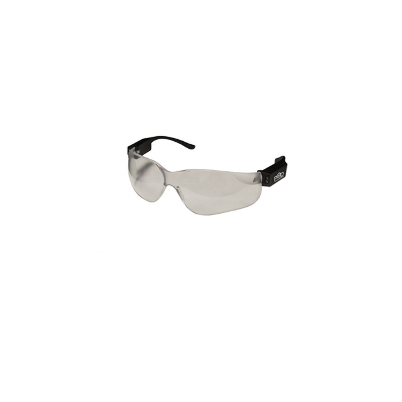 LED Safety Glasses Angle View