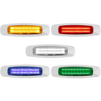 Rectangular 4 LED Clearance Marker Light