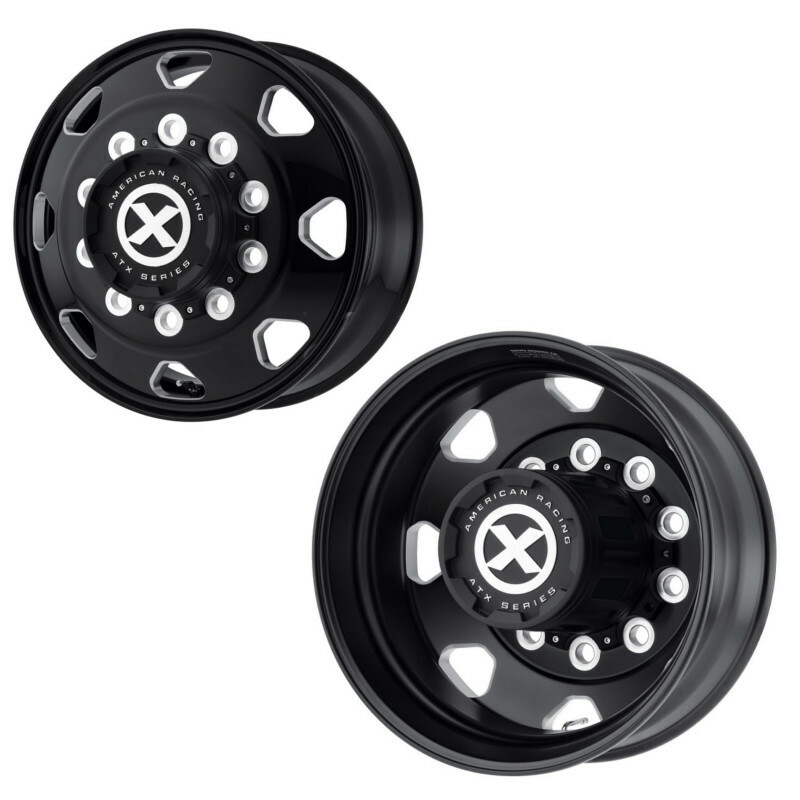 "24.5"" x 8.25"" Octane Style Wheels Front And Rear"