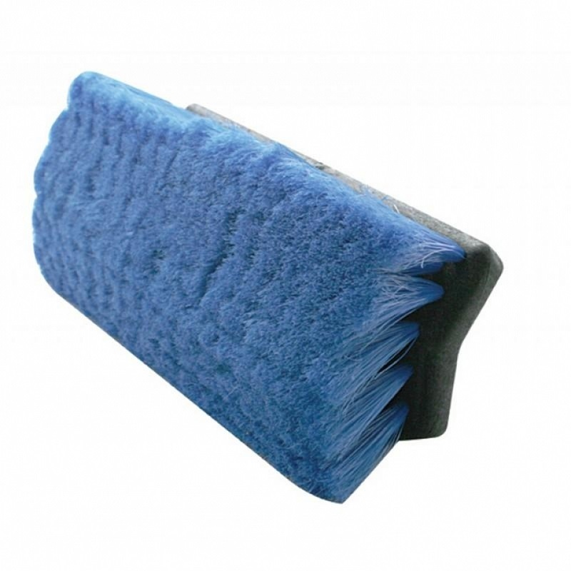 "10"" Bi-Level Scrub Brush Angle View"