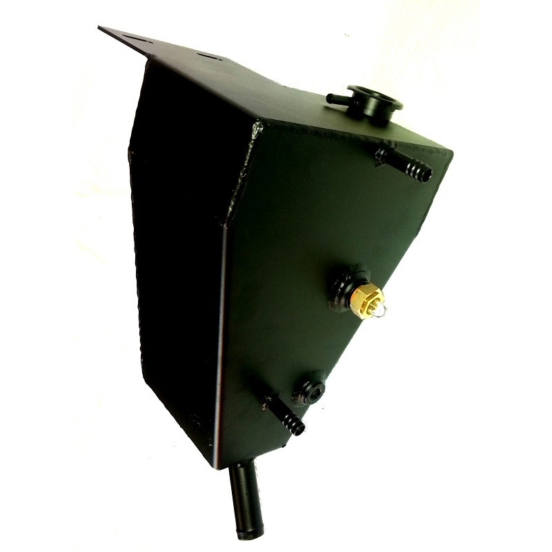 International Metal Coolant Reservoir Tank Replacement Side View