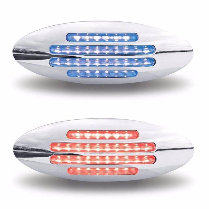 G1 Dual Flatline Marker Flatline Red/Blue LED Both Functions