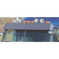 Western Star 4900 Series Drop Visor On Truck