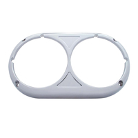 Chrome Peterbilt 359 Original Style Headlight Bezel