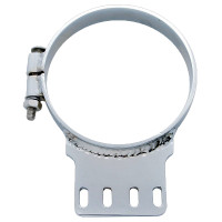 "Kenworth 6"" Chrome Exhaust Clamp"