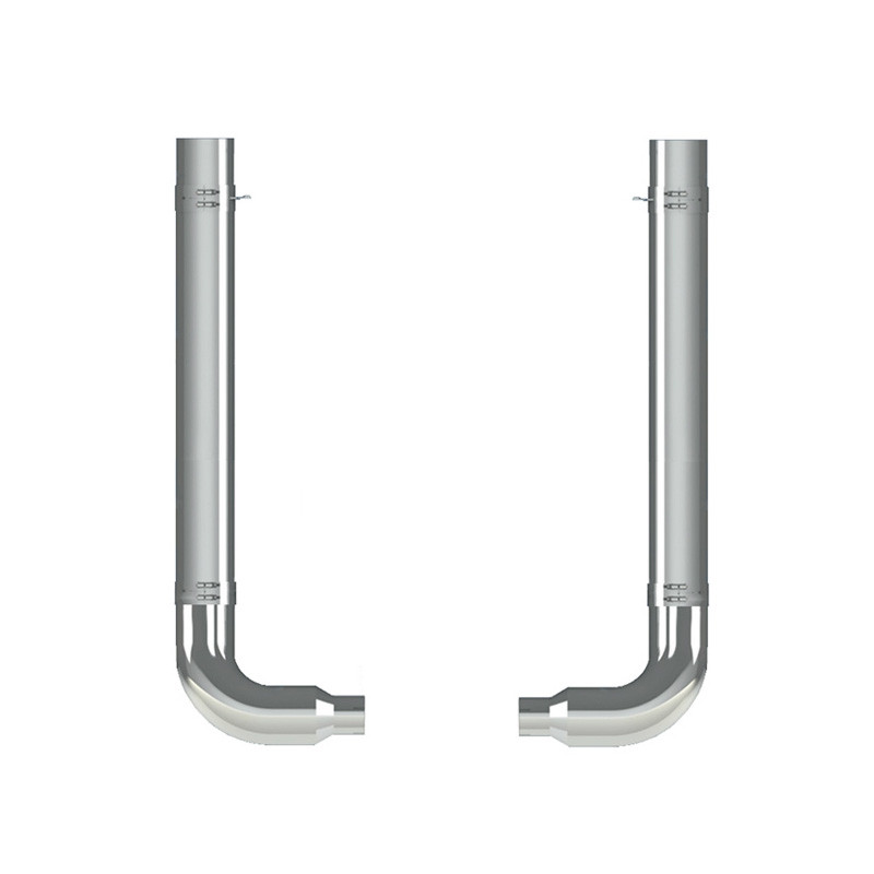 "Kenworth W900A 7"" Dynaflex Exhaust Kit"