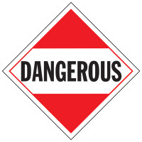 Dangerous Placard Sign
