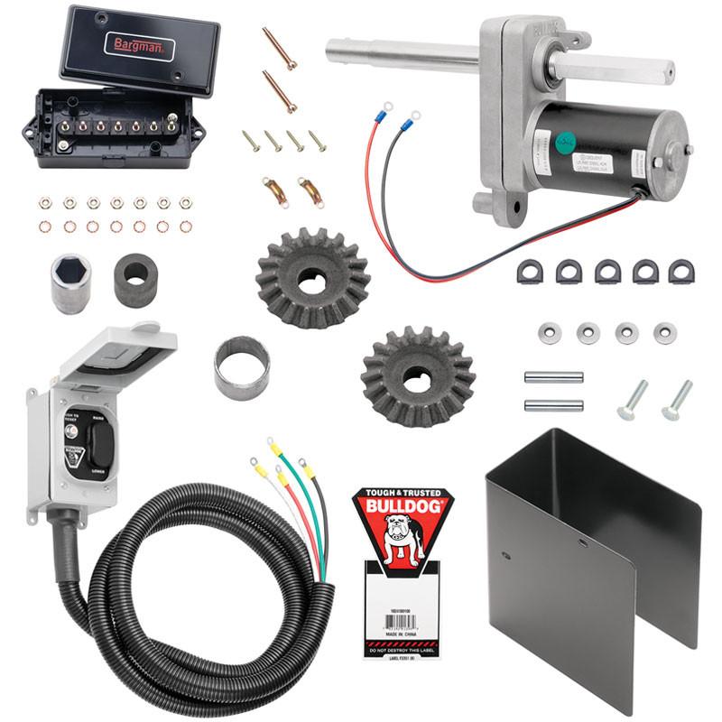Bulldog Electric Powered Jack Kit 12K 2-Speed 1824180100