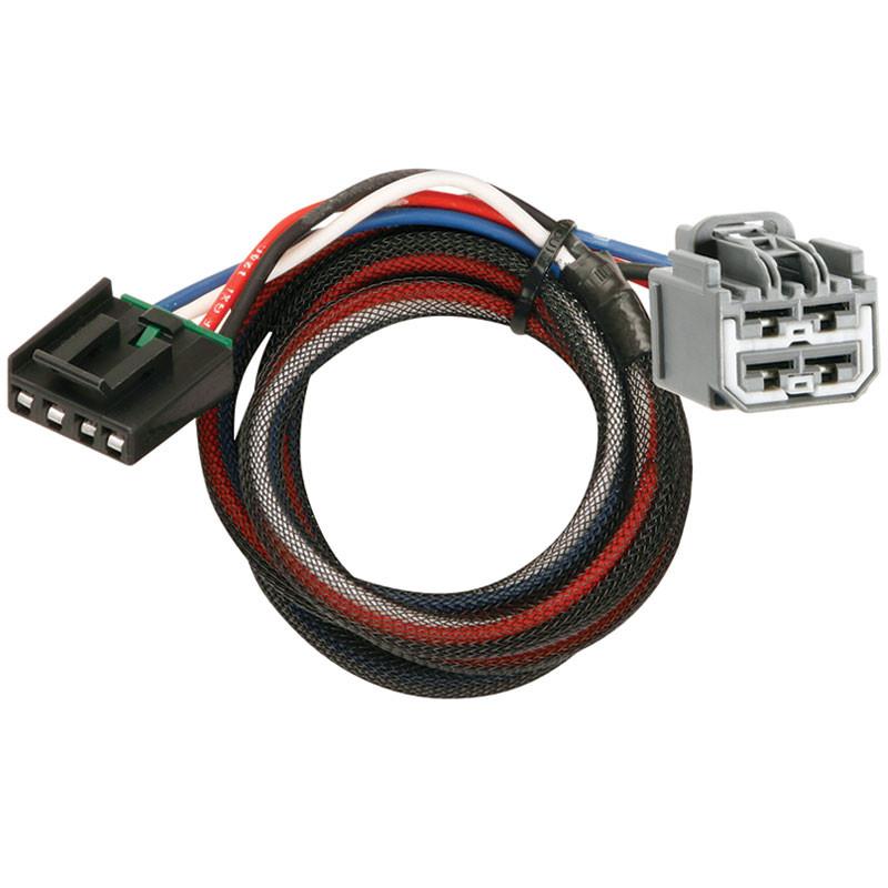 tekonsha 2 plug brake control wiring adapter dodge jeep 3045 p rh raneystruckparts com brake control wiring adapter for a 2017 dodge brake control wiring adapter 2017 armada