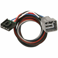Tekonsha 2 Plug Brake Control Wiring Adapter Jeep 3014-P End