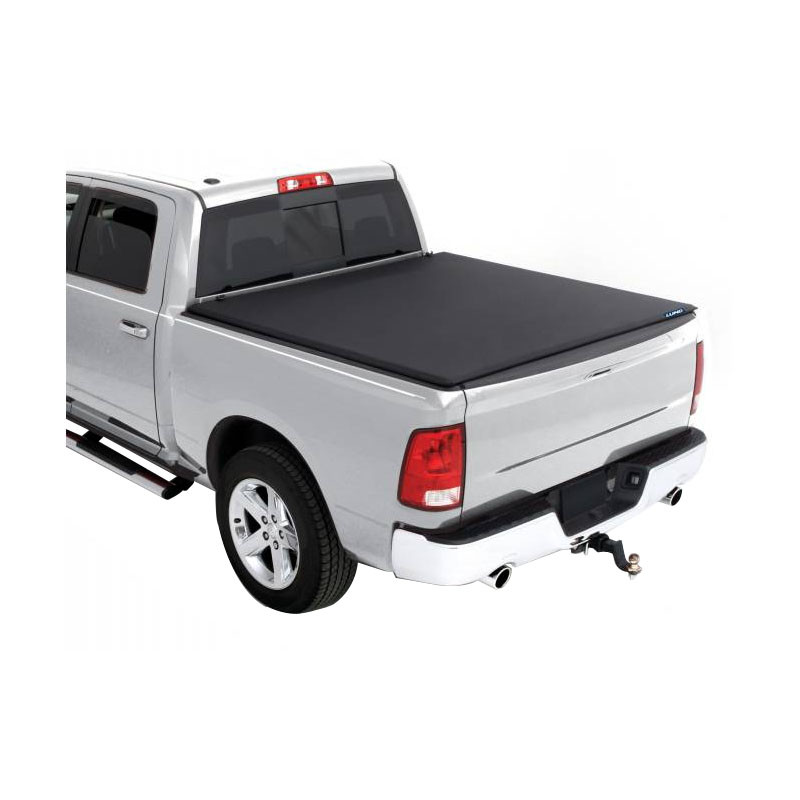 Dodge Ram 1500 2500 3500 Genesis Roll Up Tonneau Cover Closed 2002-2016