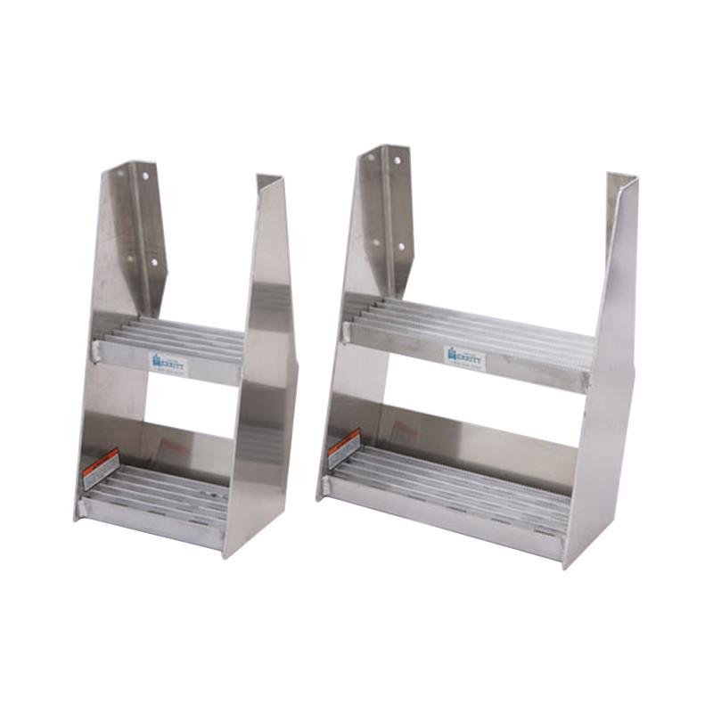 Universal Aluminum Frame Step Assembly