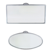 Chrome Interior Rear View Mirrors