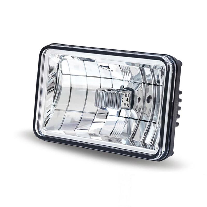 "6"" x 4"" LED Rectangular Headlight High Or Low Beam"