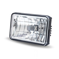 "6"" x 4"" LED Rectangular Headlight High Or Low Beam"