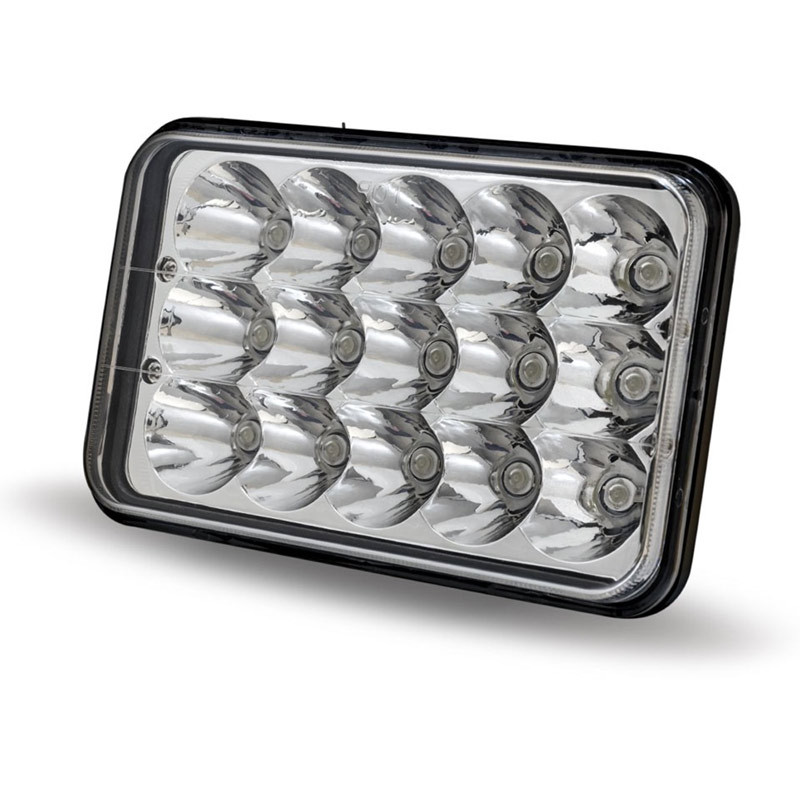 "6"" x 4"" LED Rectangular High Intensity Headlight"