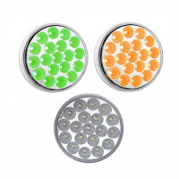 4'' Dual Amber/Green Clearance/Marker LED