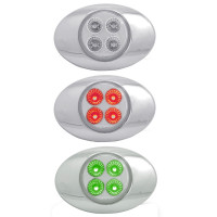 Millennium M3 Style Dual Revolution Red & Green LED Marker Light