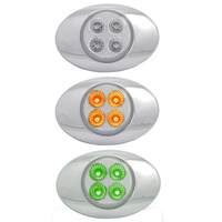 Millennium M3 Style Dual Revolution Amber & Green LED Marker Light