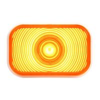Rectangular Single High Power Amber LED PTC Light