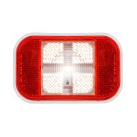 Rectangular Single High Power Back Up Clear LED Light