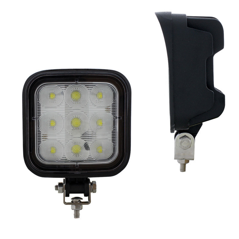 9 LED Square Wide Angle Driving Work Light