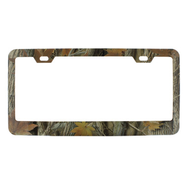 Foliage Camo License Plate Frame - Raney\'s Truck Parts
