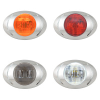Oval P3 LED Clearance Marker Lights