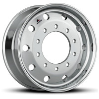 "22.5"" Accuride Super Single Aluminum Wheel Hub Piloted"