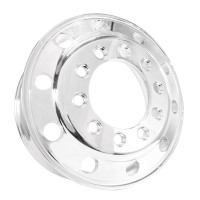 "2.5"" x 9.00"" Accuride Aluminum Budd Wheel"