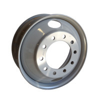 "22.5"" Accuride Steel Wheel Hub Piloted With 2 Hand Holes"