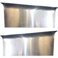 Peterbilt 379 Aluminum Extended Hood Top Panel 13-04333L 13-04333R