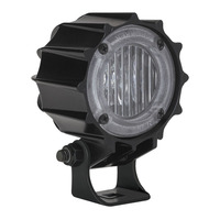 "JW Speaker 3"" Round LED Work Light Model 4410 Angle View"
