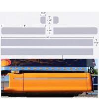 Peterbilt 387 Premium Sleeper 6 Piece Fairing Insert
