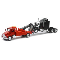 Kenworth T300 Tow Truck With International LoneStar Cab 1/43 Scale