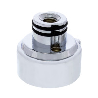 Chrome 9 Speed Vertical LED Gearshift Mounting Adapter