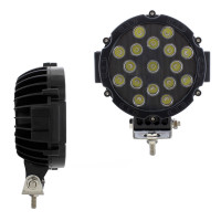 "High Power 17 LED 7"" Off-Road Spot Light"