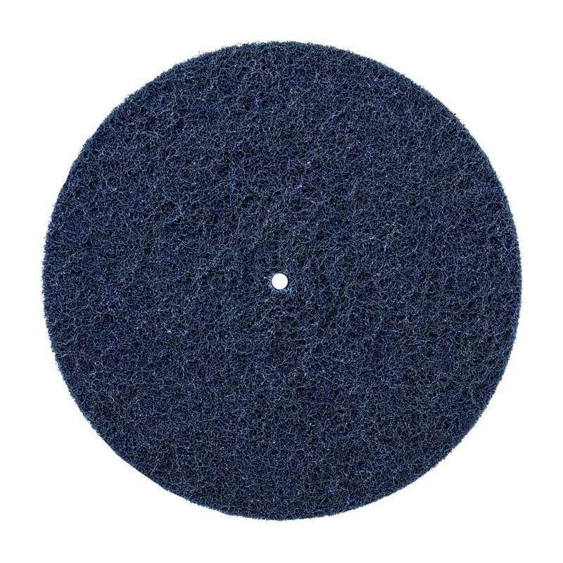 "Renegade 9"" Blue Medium Cutting Buff And Blend Sanding Disc 2 Ply"