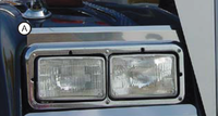Freightliner Classic & XL Upper Fender Guards Short & Long Hood By RoadWorks