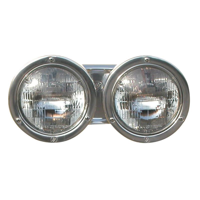 "Double JJ 7"" Round Fender Mounted Headlights"