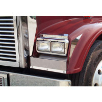 Freightliner Classic XL Blank Solid Mount Fender Guards
