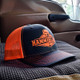 Snapback Neon Orange Hammerlane Trucker Hat In Truck